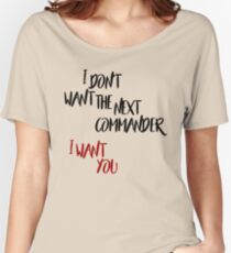 I Want You Women's Relaxed Fit T-Shirt