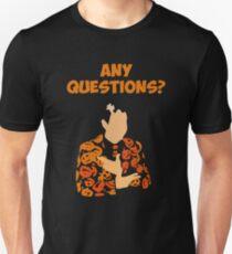 I'm David Pumpkins Any Questions T-Shirt