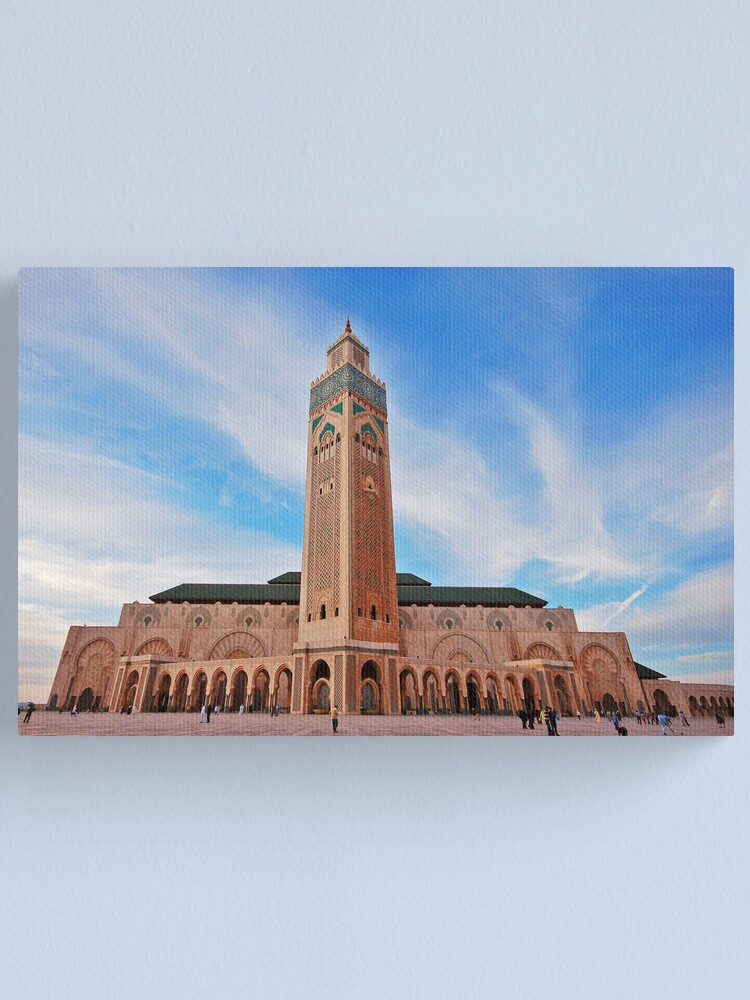 Alternate view of Hassan  II Mosque Canvas Print