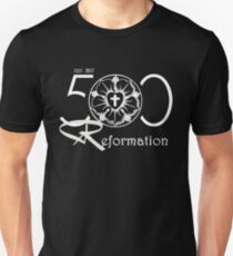 500 Years Of Reformation - Martin Luther Rose 1517 T-Shirt T-Shirt