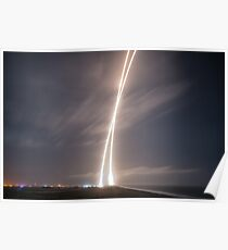 ORBCOMM-2 First-Stage Landing Poster