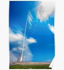 CRS-12 Mission Daytime Timelapse Launch Poster