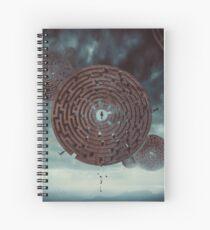 The Maze Spiral Notebook
