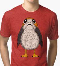 Star Wars Porg Textured Tri-blend T-Shirt