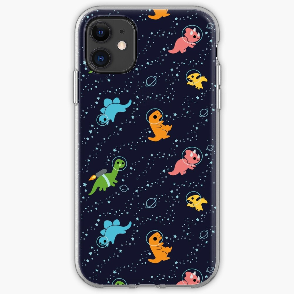 Dinosaurs In Space iPhone Case & Cover