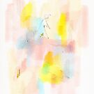 In Love Abstract Drawing Prints by Niki Jackson