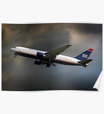US Airways Boeing 767-201 Poster