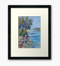 Will fishing Framed Print
