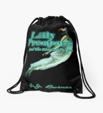 Lilly Prospero And The Mermaid's Curse Drawstring Bag