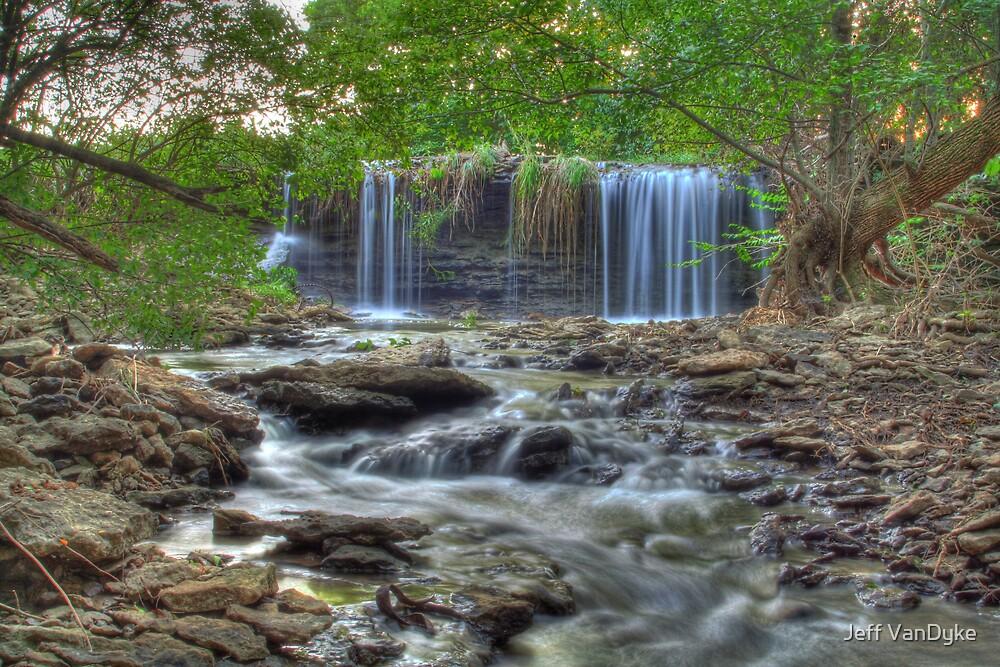 Brouilletts Creek Waterfall by Jeff VanDyke