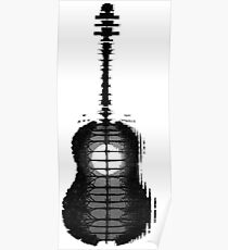 Shawn Mendes Guitar Tattoo Poster