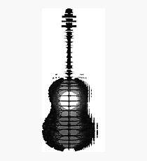 Shawn Mendes Guitar Tattoo Photographic Print