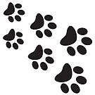 Cat Paws - Black by catloversaus