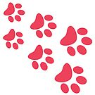 Cat Paws - Coral by catloversaus