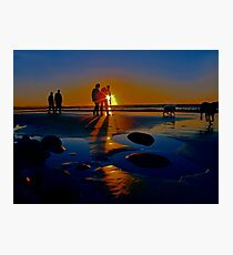 Sun Dogs Photographic Print