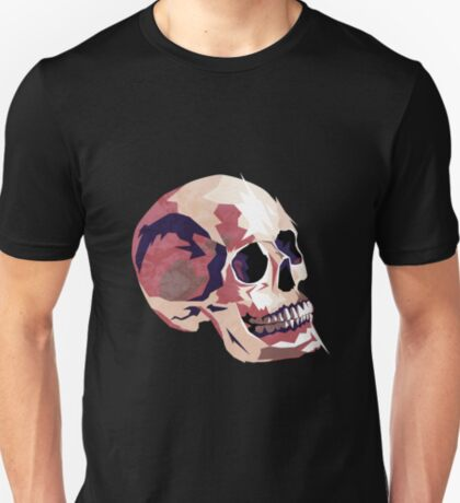 Skull pink Halloween T-Shirt