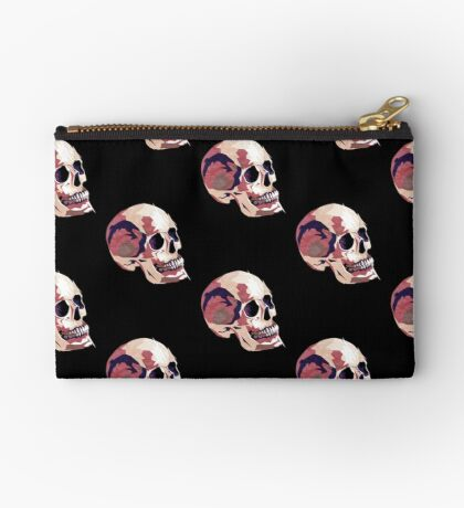 Skull pink Halloween Studio Pouch