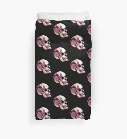 Skull pink Halloween Duvet Cover