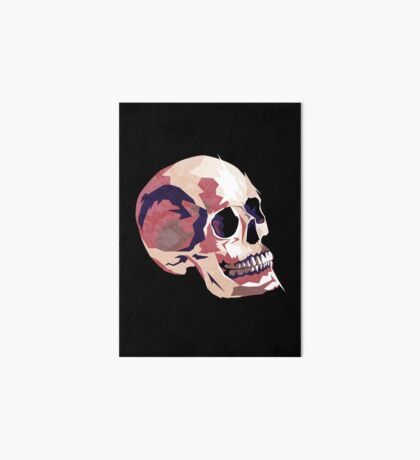 Skull pink Halloween Art Board
