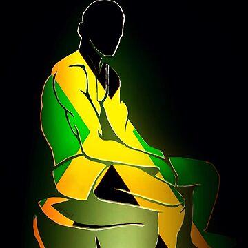 Custom Stencil Man (Jamaica)  by kash2dawizzle