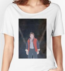 MARTY MCFLY Women's Relaxed Fit T-Shirt