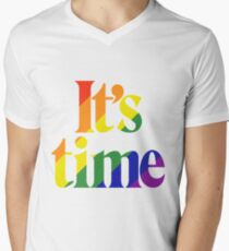 It's Time - For Same Sex Marriage T-Shirt
