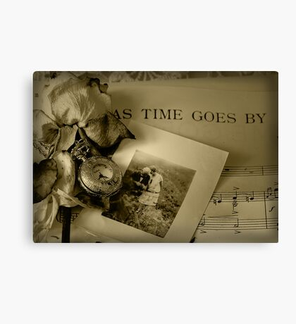 As Time Goes By ... Canvas Print