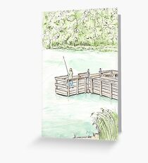 Holland Lake at Lebanon Hills Regional Park, Eagan Minnesota Greeting Card