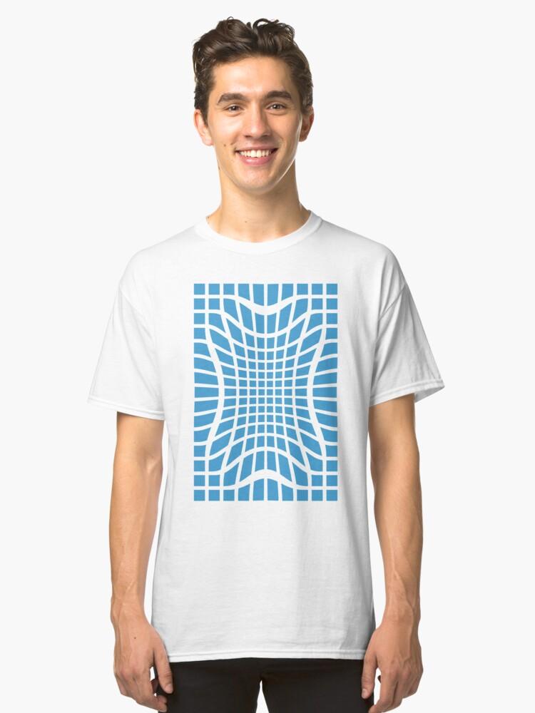 Blue Void Classic T-Shirt Front
