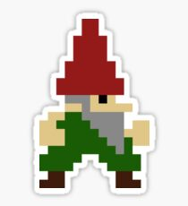 Gnome with Oversized Pants Sticker