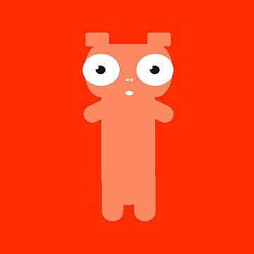 Kawaii Pig by guiamvd