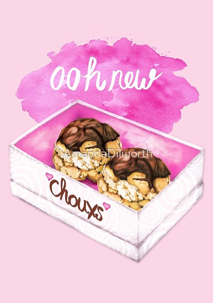 New Chouxs - Food Pun by AmandaDilworth