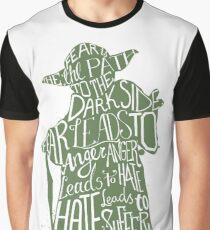 Fear is the Path to Darkside typography design Graphic T-Shirt