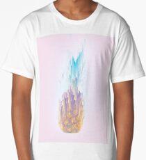 Pink Pineapple Rush Long T-Shirt