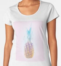 Pink Pineapple Rush Women's Premium T-Shirt