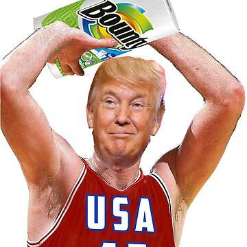 Toalla de papel Donald Trump de andrewcb15