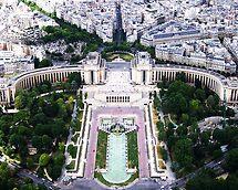 Paris from above by Rosina  Lamberti