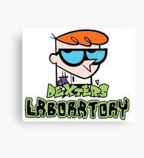 dexter's lab Canvas Print