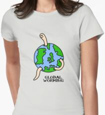 Global Worming Womens Fitted T-Shirt