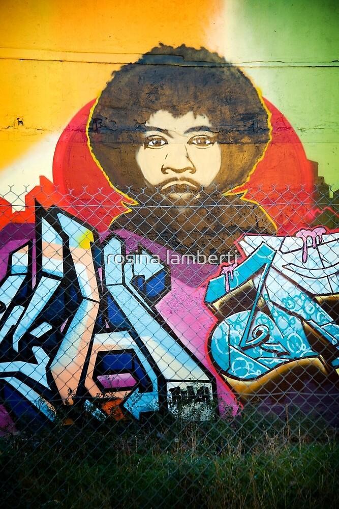 Fitzroy grafitti  by Rosina  Lamberti
