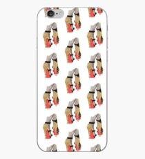 Gold Red Bottoms iPhone Case