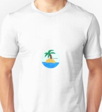 Cute Lonely Palm Tree #foreveralone Unisex T-Shirt