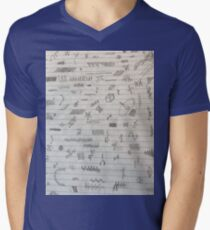 Doodles Men's V-Neck T-Shirt