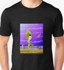 Punked Fish Unisex T-Shirt