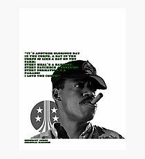 Aliens (Sgt. Apone´s speech) Photographic Print