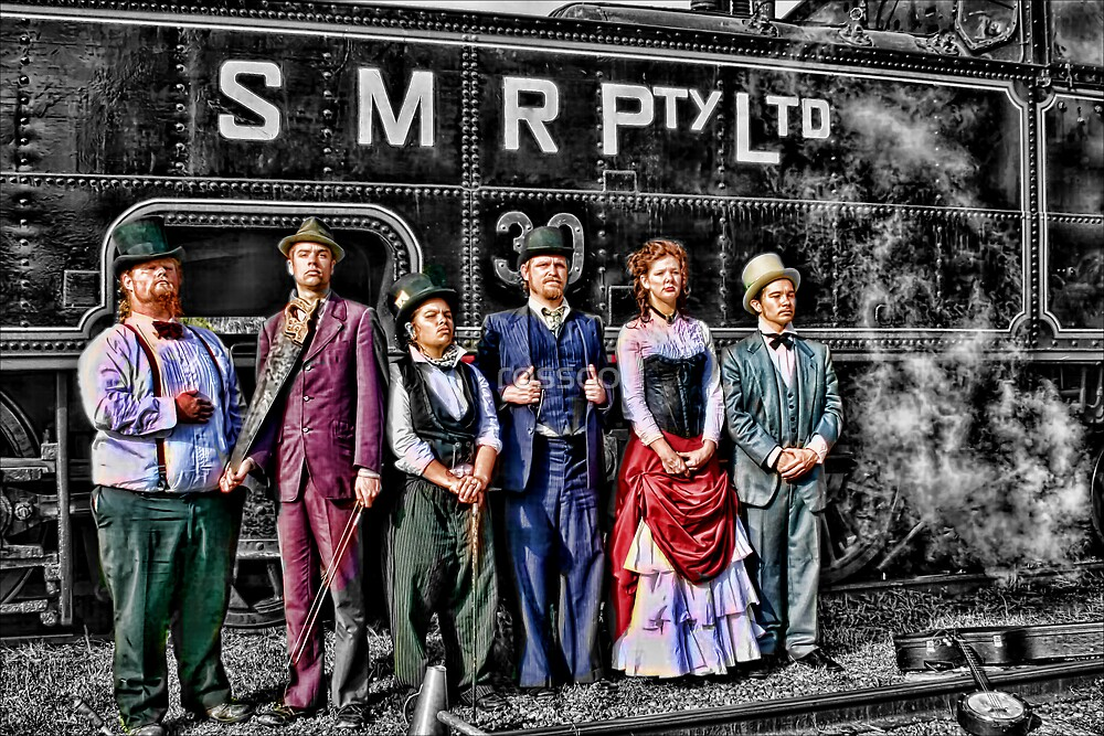 Mojo & The Train by rossco