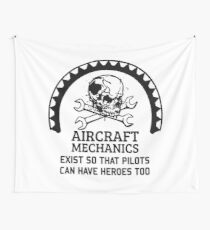 AIRCRAFT Wall Tapestry