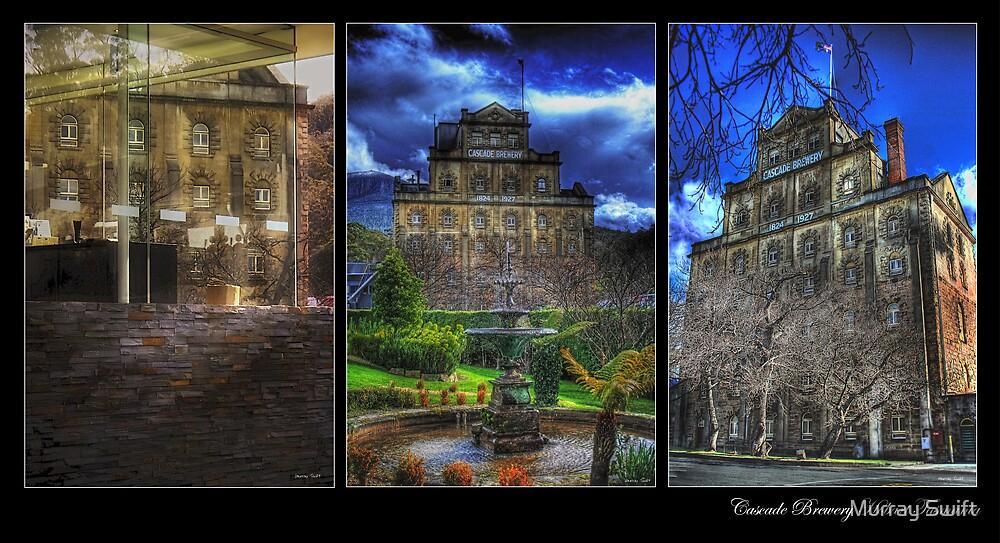 Cascade Triptych by Murray Swift
