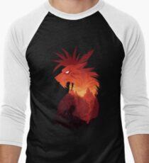 Camiseta ¾ bicolor para hombre The Canyon's Guardian Black
