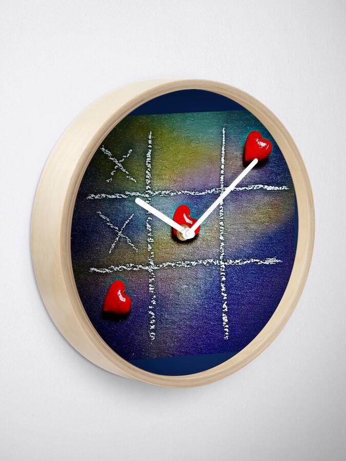 Alternate view of Tic Tac - Love Wins! Clock